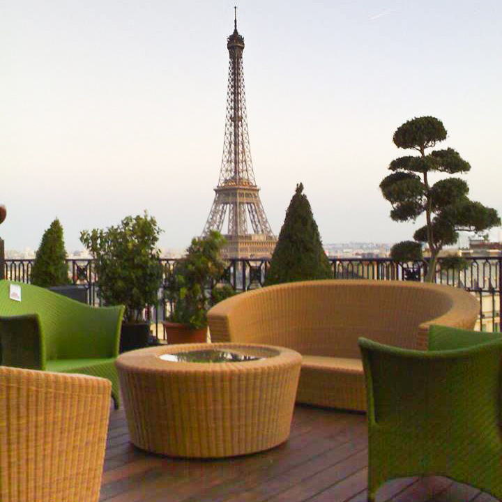 parigi doghe da esterno vista terrazza